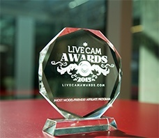 Jasmin and AWEmpire victory at Live Cam Awards 2015!