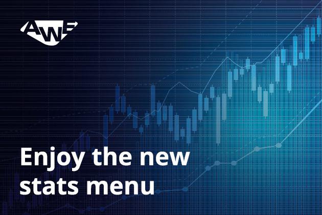 3 - Enjoy the new stats menu!