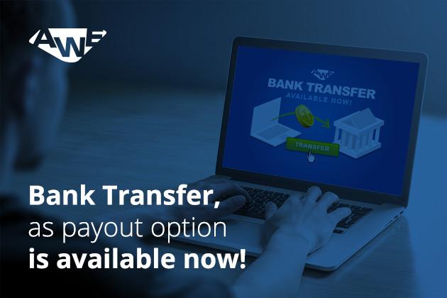 2 - Get paid via bank transfer